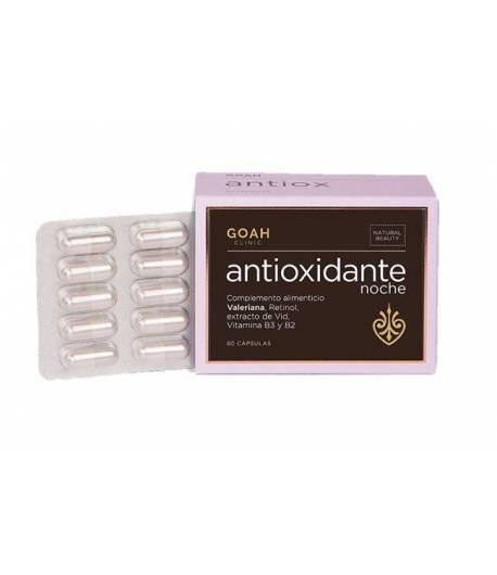Antioxidante Noche GOAH CLINIC 60 caps Antiedad