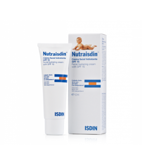 Nutraisdin Crema Facial Hidratante SPF 15 ISDIN 50ml Hidratantes