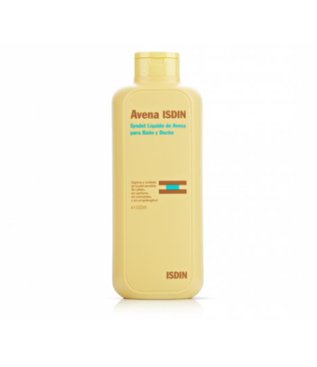 Syndet Líquido de Avena para Baño y Ducha ISDIN 1000ml Gel de ducha