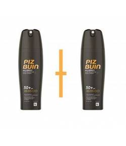 Spray Piel Sensible SPF50+ PIZ BUIN ALLERGY 2x200ml Protección solar