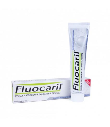 Pasta Dentífrica FLUOCARIL Blanqueador 125ml Blanqueamiento