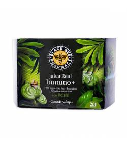 Jalea Real Inmuno+ 20 viales BLACK BEE PHARMACY Defensas