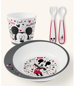 Vajilla Mickey Mouse NUK Primera Vajilla