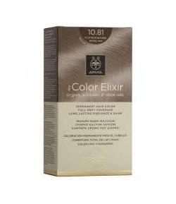 Tinte My Color Elixir 10.81 Rubio Platino Ceniza Perlado APIVITA Tintes