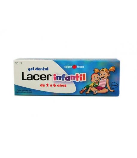 Pasta Dentífrica Infantil LACER 50ml Pastas