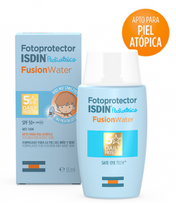 Fotoprotector Fusion Water Pediatrics 50+ ISDIN 50ml
