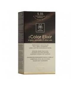 Tinte My Color Elixir 5.35 Castaño Claro Dorado Caoba APIVITA Tintes