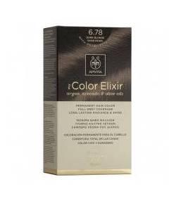 Tinte My Color Elixir 6.78 Rubio Oscuro Arena Perlado APIVITA Tintes