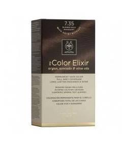 Tinte My Color Elixir 7.35 Rubio Dorado Caoba APIVITA