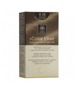 Tinte My Color Elixir 8.38 Rubio Claro Dorado Perlado APIVITA Tintes