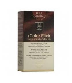 Tinte My Color Elixir 6.44 Rubio Oscuro Cobrizo Intenso APIVITA