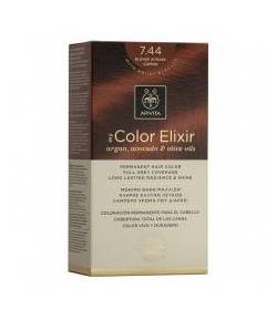 Tinte My Color Elixir 7.44 Rubio Cobrizo Intenso APIVITA
