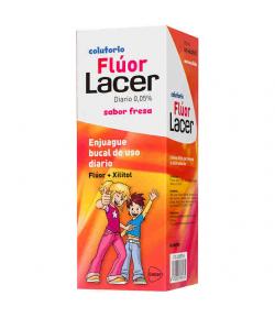 Colutorio Flúor LACER Fresa 500ml