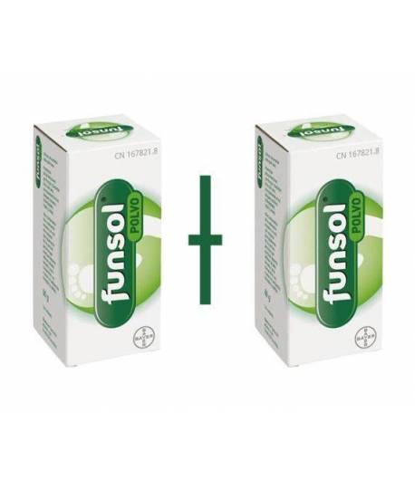 FUNSOL Polvo 2X60gr Desodorantes