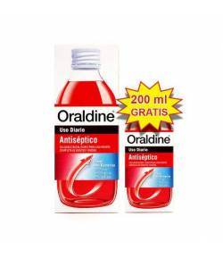Enjuague Bucal Antiséptico 400ml +200ml ORALDINE