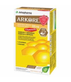 ARKOREAL Jalea Real Fresca Vitaminada 500mg 20ud ARKOPHARMA Energía