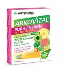 ARKOVITAL Pura Energía Multivitaminas 30comp ARKOPHARMA