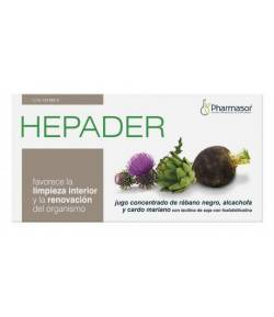 Hepader 14x10ml PHARMASOR