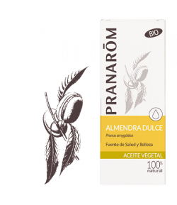 Aceite Vegetal Almendras Dulces BIO 50 ml PRANAROM Hidratantes