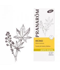 Aceite Vegetal Ricino BIO 50 ml PRANAROM Mascarillas