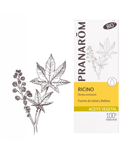 Aceite Vegetal Ricino Bio 50 Ml Pranarom