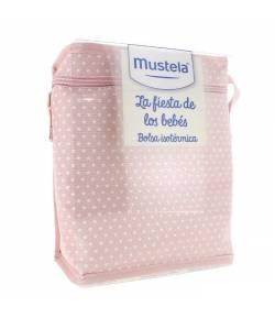 Bolsa Isotérmica La Fiesta de los Bebés Rosa MUSTELA