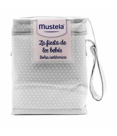 Bolsa Isotérmica La Fiesta de los Bebés Gris MUSTELA