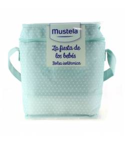 Bolsa Isotérmica La Fiesta de los Bebés Azul MUSTELA