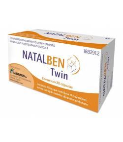 NATALBEN Twin 30 cápsulas Vitaminas