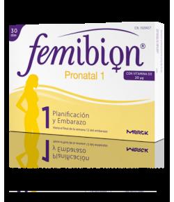FEMIBION Pronatal 1 Planificación y Embarazo 30comp Vitaminas