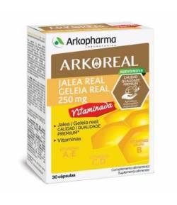 ARKOREAL Jalea Real Vitaminada 250mg 30 caps ARKOPHARMA Energía