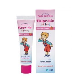 Pasta Dentífrica FLUOR-KIN Infantil 50ml