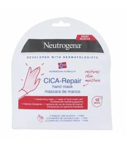 CICA Repair Máscara de Manos 1 par de Guantes NEUTROGENA Crema de manos