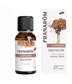 Mezcla para Difusión Meditación BIO 30ml PRANAROM Difusores
