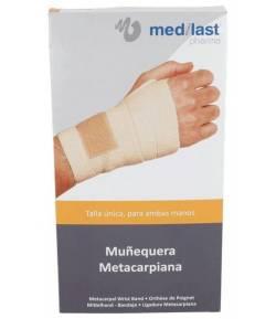 Muñequera Metacarpiana Talla única Beige MEDILAST Muñeca