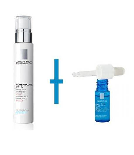 PIGMENTCLAR Serum 30ml + HYALUB5 Serum 10ml LA ROCHE-POSAY Antimanchas
