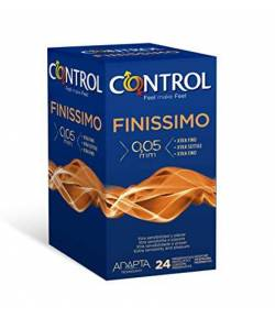 Preservativo Finissimo CONTROL 24ud