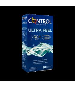 Preservativo Ultra Feel CONTROL 10ud Preservativos