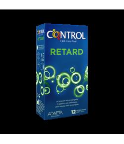 Preservativo Retard CONTROL 12ud Preservativos