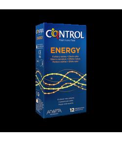 Preservativo Energy CONTROL 12ud Preservativos