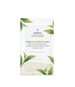 Máscara Facial Hidratante Green Tea Therapy Mask 25ml SESDERMA