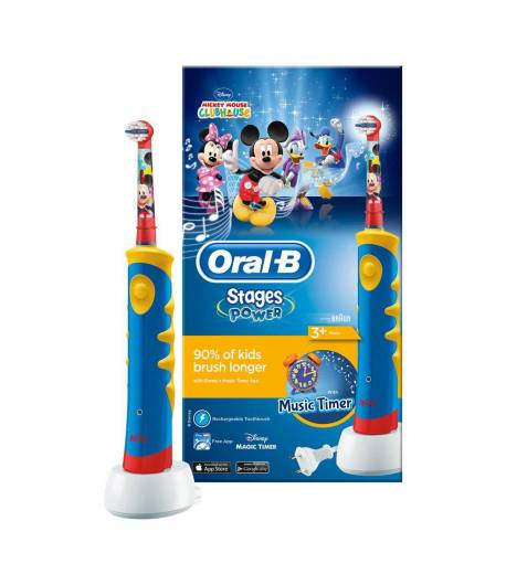 Cepillo Eléctrico Oral-B Stages Mickey