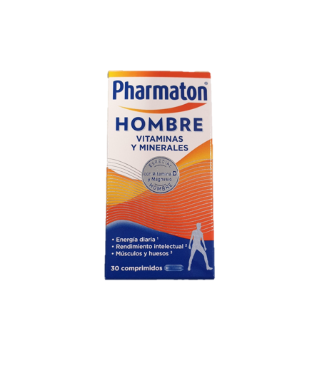 Pharmaton Hombre 30 comprimidos Energía