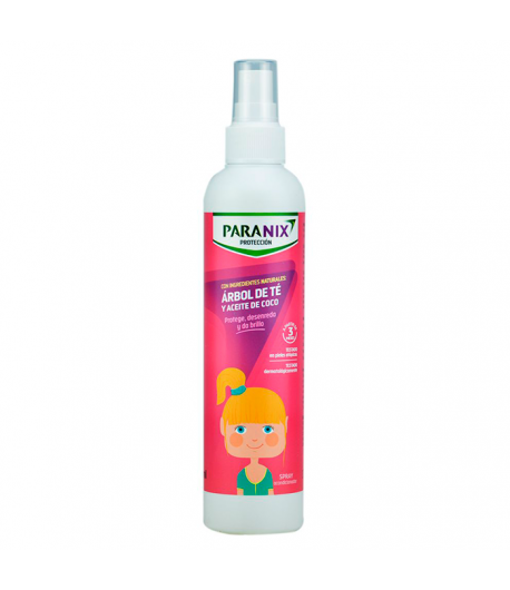 Árbol de te Spray Rosa 250ml PARANIX