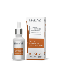 REMESCAR Vitamina C & Ácido Hialurónico Serum Reparador 30ml