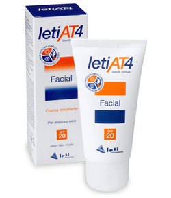 Crema Facial SPF20 LETI AT4 50ml