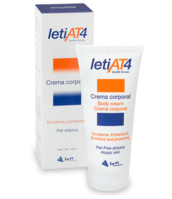 Crema Corporal LETI AT4 200ml