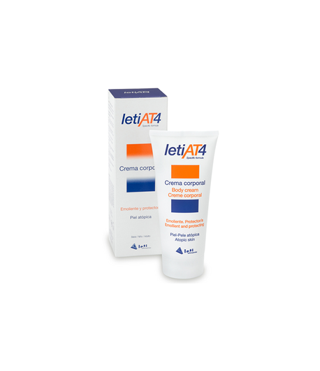 Crema Corporal LETI AT4 200ml Hidratantes