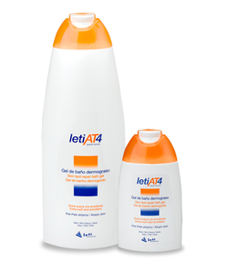 Gel de Baño Dermograso LETI AT4 750ml Gel de ducha