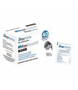 SinuSal XL 40 sobres RHINODOUCHE Suero Fisiológico